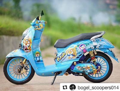 Modifikasi Scoopy AirBrush