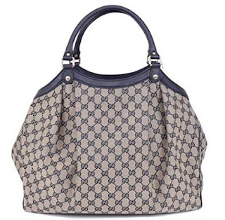 Gucci Large Canvas GG Guccissima Sukey Purse