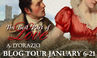Blog Tour: The Best Part of Love by A D'Orazio