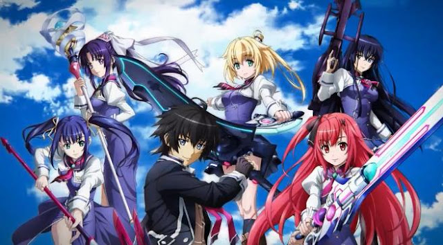 Top Best Romance Magic School Anime List - Kuusen Madoushi Kouhosei no Kyoukan (Sky Wizards Academy)