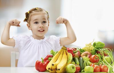 Niños y alimentos