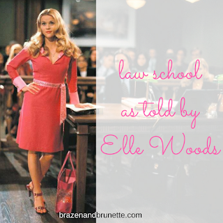 law school as told by Elle Woods | brazenandbrunette.com