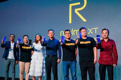 Hadir di Indonesia, Realme XT Bawa 4 Kamera dengan 64MP