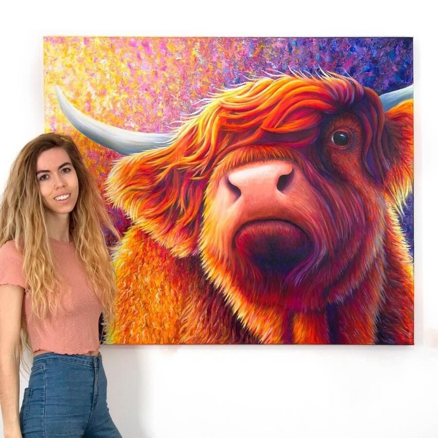04-Scottish highland cow-Rachel-Froud-www-designstack-co