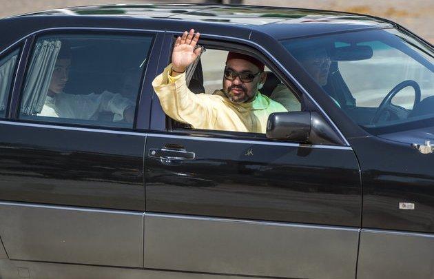 الملك محمد السادس يحل بمراكش