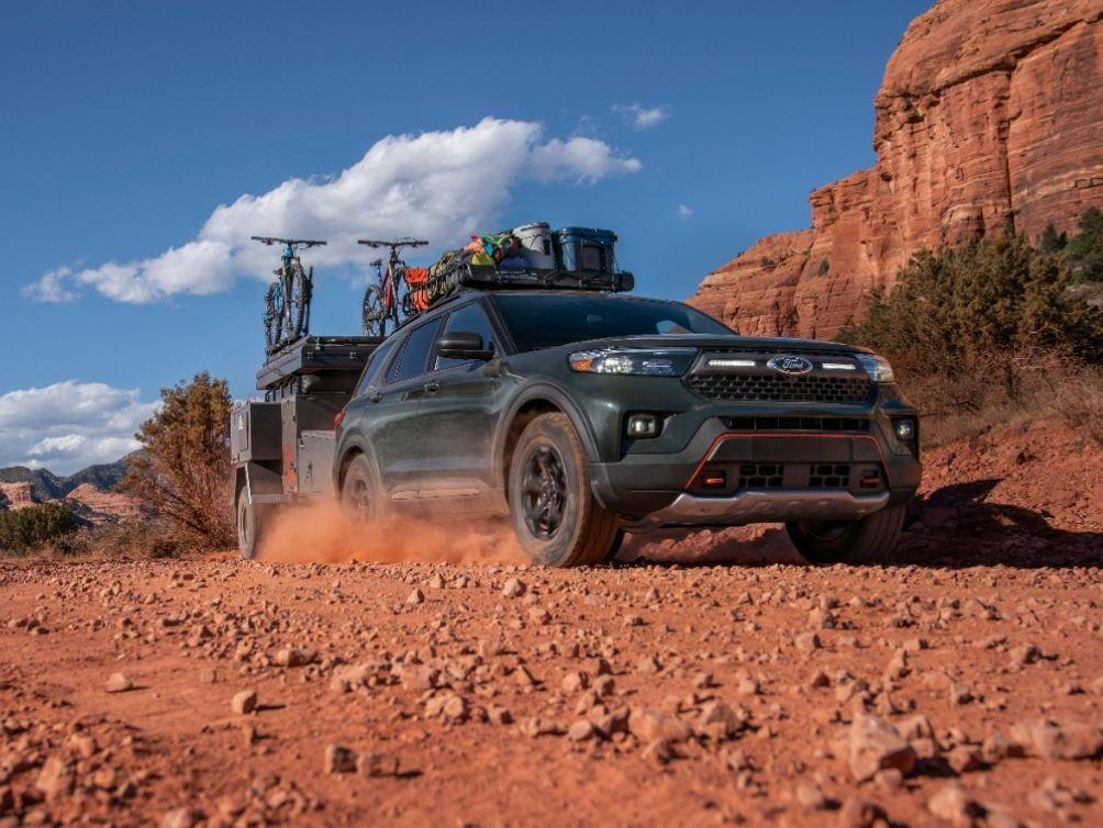 tampak depan ford timberline 2021