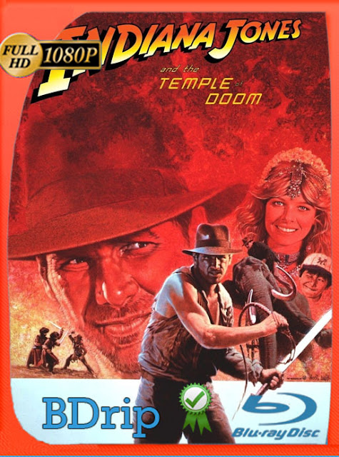Indiana Jones 2: El templo de la perdición (1984) BDRip [1080p] latino  [Google Drive] Panchirulo