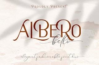 Alberobello Fashionable Font Duo