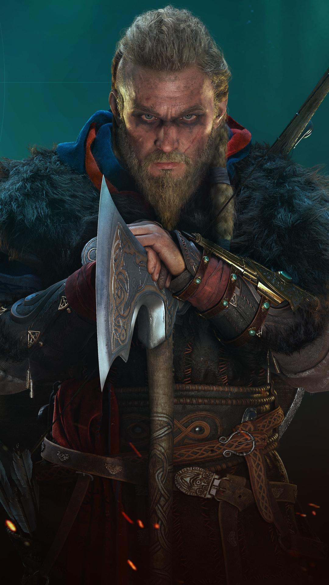 Assassin's Creed Valhalla Mobile Wallpaper