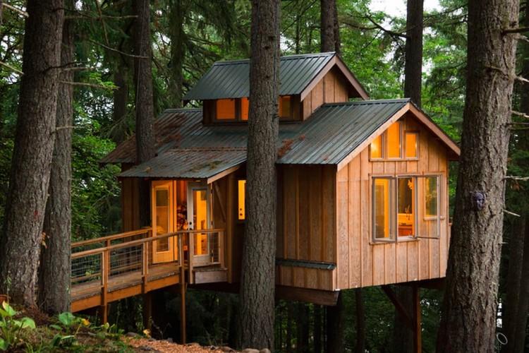 55 Contoh Desain Rumah Pohon Unik Dan Fantastis Rumahku Unik