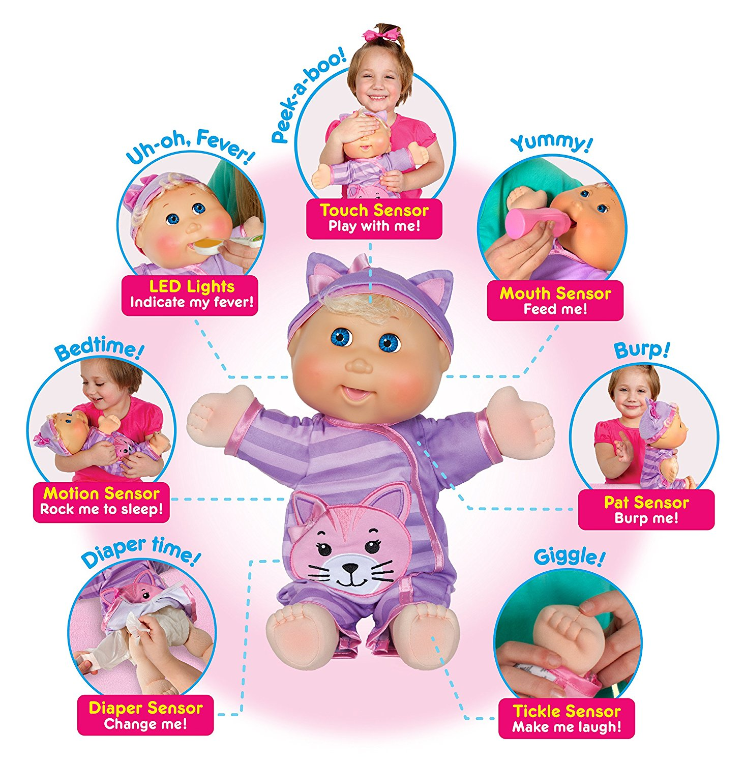 Day to day moments: cabbage patch kids baby so real doll.