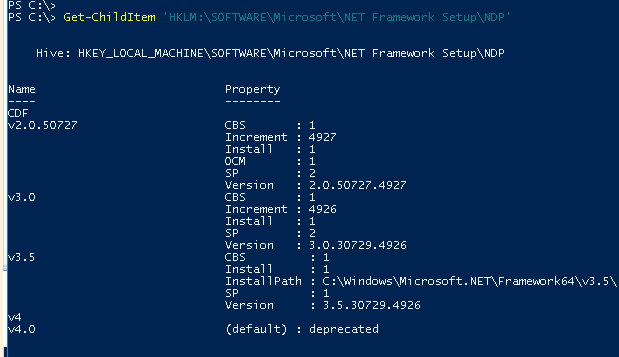 Happy SysAdm: PowerShell oneliner to list all the installed
