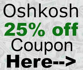 photograph regarding Oshkosh Printable Coupon known as OshKosh Printable Coupon and Promo Code 25% off Suitable Cash