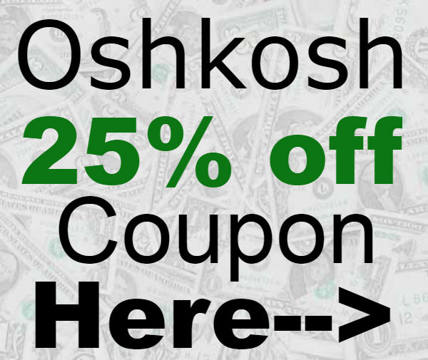 graphic relating to Oshkosh Printable Coupon known as OshKosh Printable Coupon and Promo Code 25% off Most straightforward Monetary