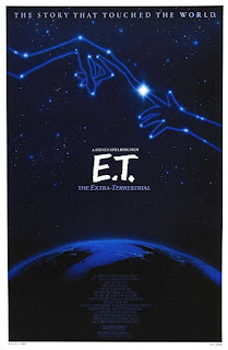 Poster E.T. The Extra Terrestrial 1982 Full Movie Download Dual Audio 300MB