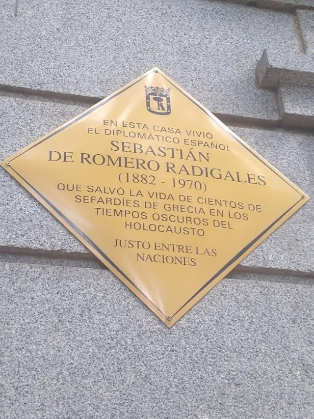 Sebastián Romero Radigales, un 'Schindler español' que salvó a centenares de sefardíes