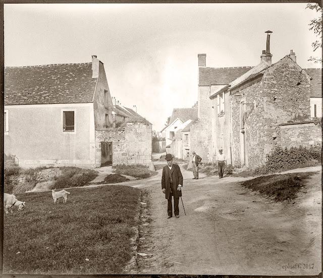 Villemoisson, rue Saint Laurent, 28 mai 1905