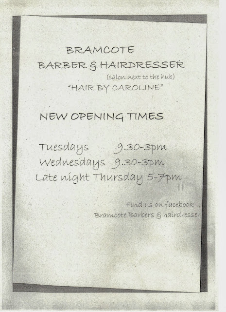 BRAMCOTE and KINETON HIVE: Bramcote Hairdresser and Barber