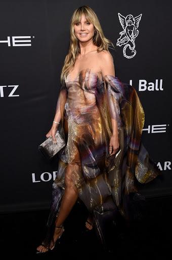 Heidi Klum Clicks at Gabrielle's Angel Foundation Angel Ball 2019 in New York 28 Oct-2019
