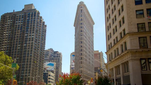 Prédio Flatiron Building em Nova York