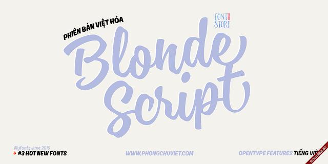 [Script] Blonde Script Việt hóa