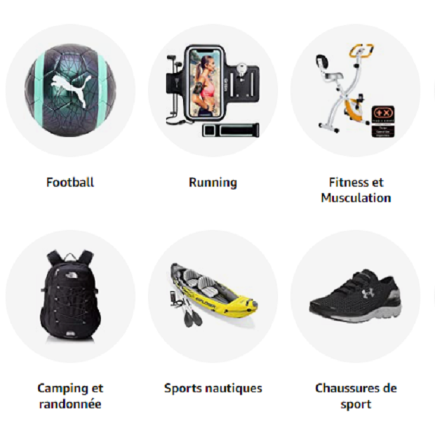 SPORTS & LOISIRS : Amazon.fr - Achat de chaussures, vêtements et accessoires de sport pour hommes, femmes et enfants ✓ Livraison gratuite possible dès 25€ d'achat