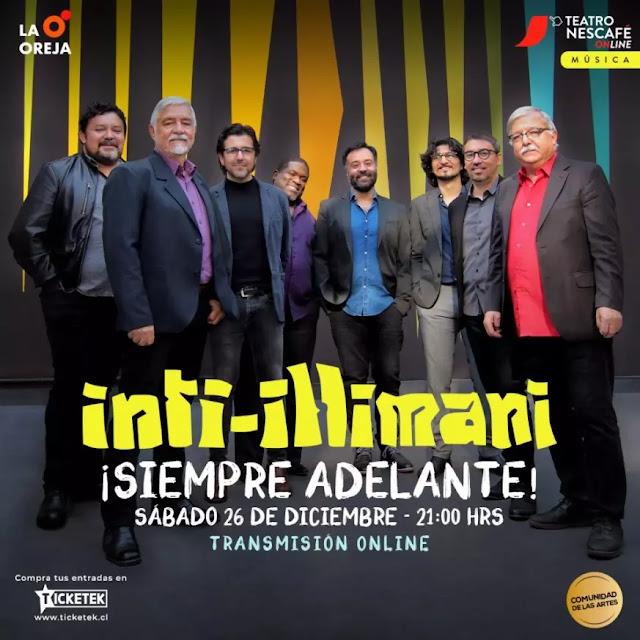 Inti Illimani anuncia concierto online ¡Siempre Adelante!