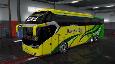 Livery Bus Jabar SR2 - Karunia Bakti