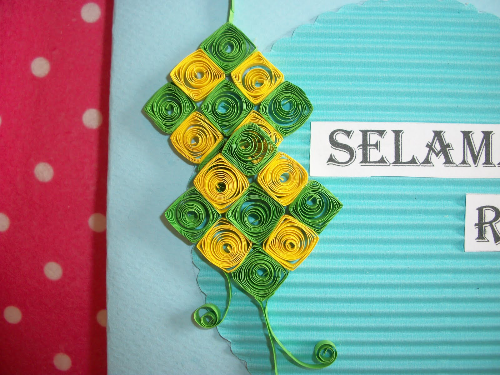 crafts n crafts hari raya quilled cards