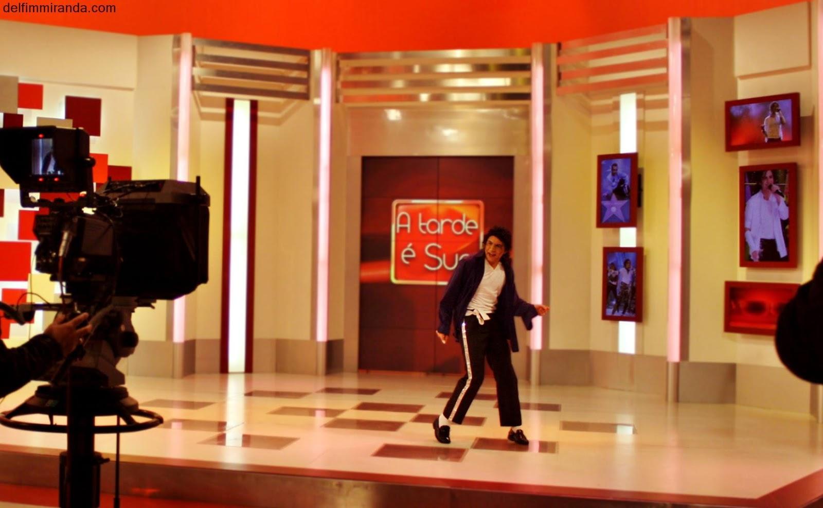 Delfim Miranda - Michael Jackson Tribute - A tarde é sua - TVI - Portugal - Live Performance
