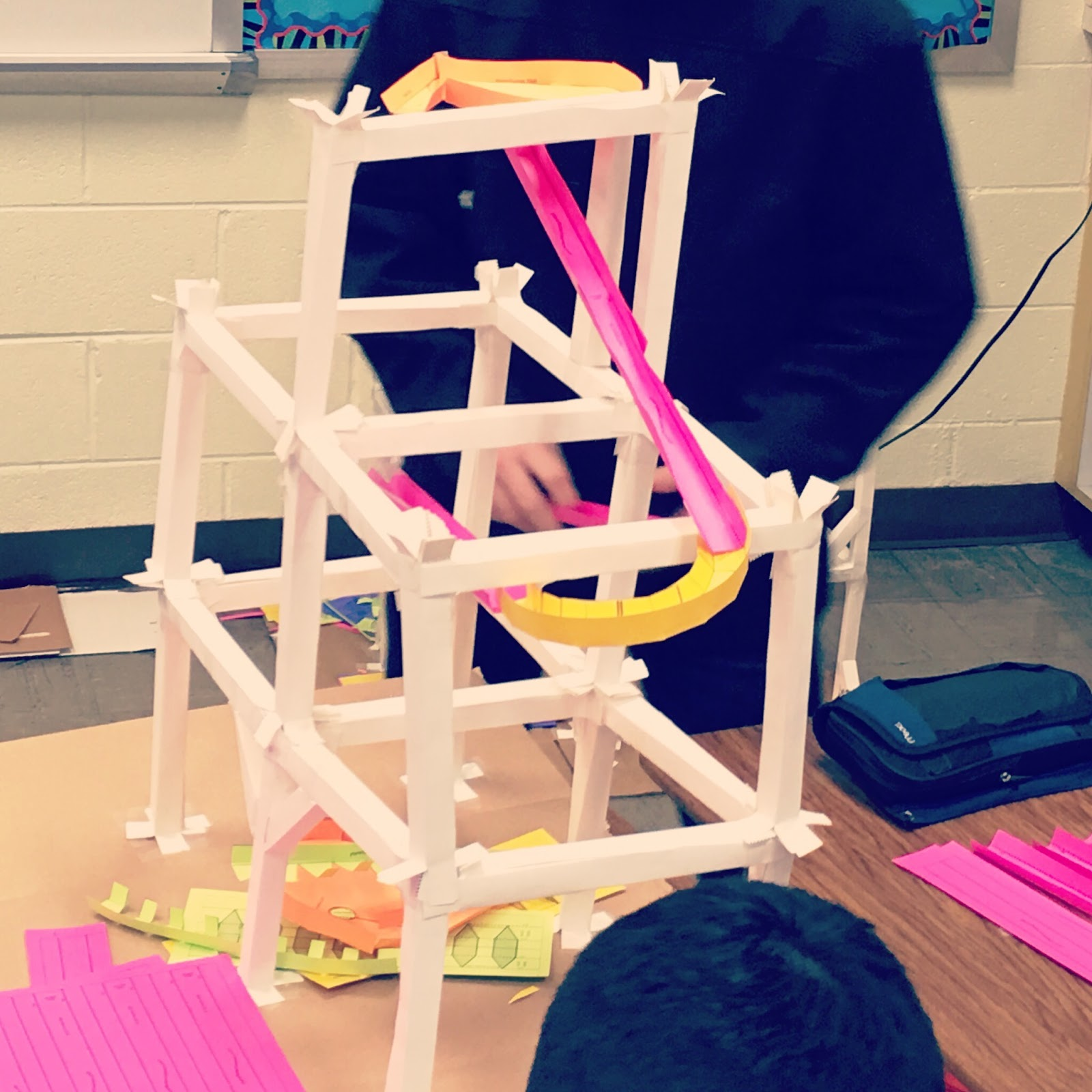teaching high school math: geometry roller coaster project
