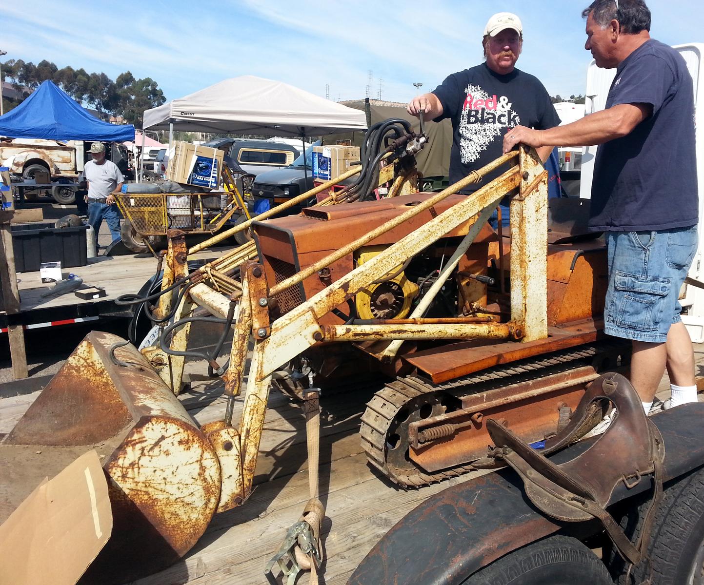 Just A Car Guy: I came across a Struck Magnatrac MT 1800 dozer