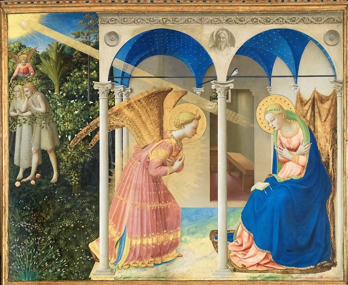 the annunciation The fact of the annunciation of the blessed virgin mary is related in luke 1:26-38  the evangelist tells us that in the sixth month after the conception of st john.
