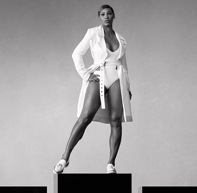 Serena Williams torna-se a nova garota propaganda da Stuart Weitzman
