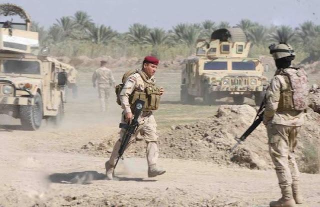 سێ تونێل و حەشارگەیەكی داعشی لە كەركووك لەلایەن سوپای عێراقەوە خاپوورکرا