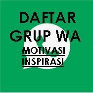 daftar link grup wa motivasi inspirasi