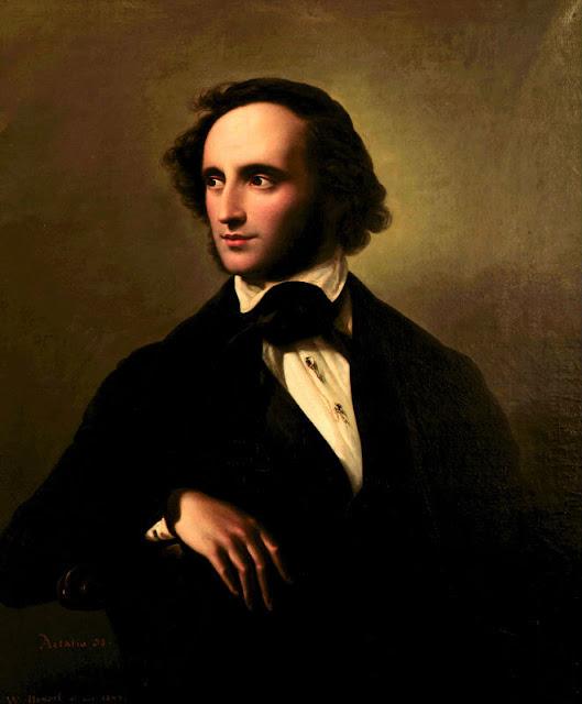 Felix Mendelssohn Bartholdy by Wilhelm Hensel 1847