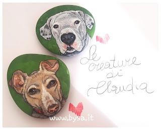 sassi dipinti costi cani