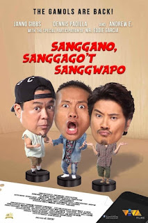 Sanggano, Sanggago't Sanggwapo (2019) Full HD Movie