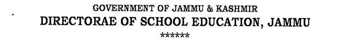 Lecturer jobs in J&K on contractual basis