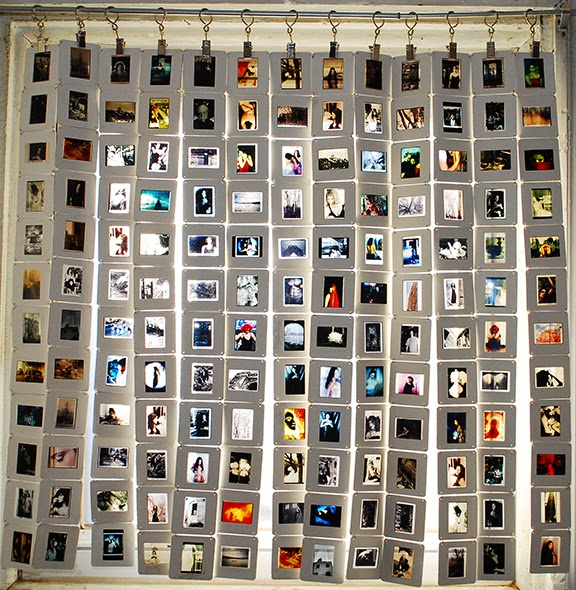 35mm slide curtain saucy images studio