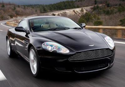 Aston Martin DB9 with Ceramic Brake