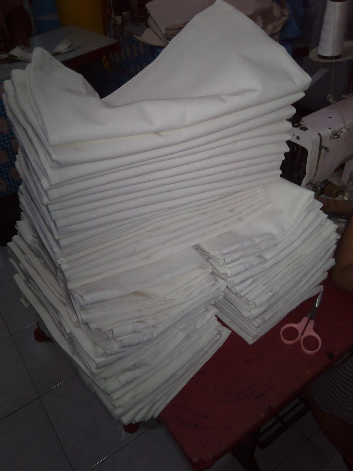 Goody Bag Tote Bag Polos Murah Tote Bag Bahan Blacu Kanvas Polos