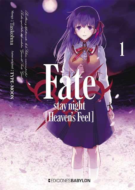 Fate/stay night: Heaven's Feel vol. 1, de Taskohna - Ediciones Babylon