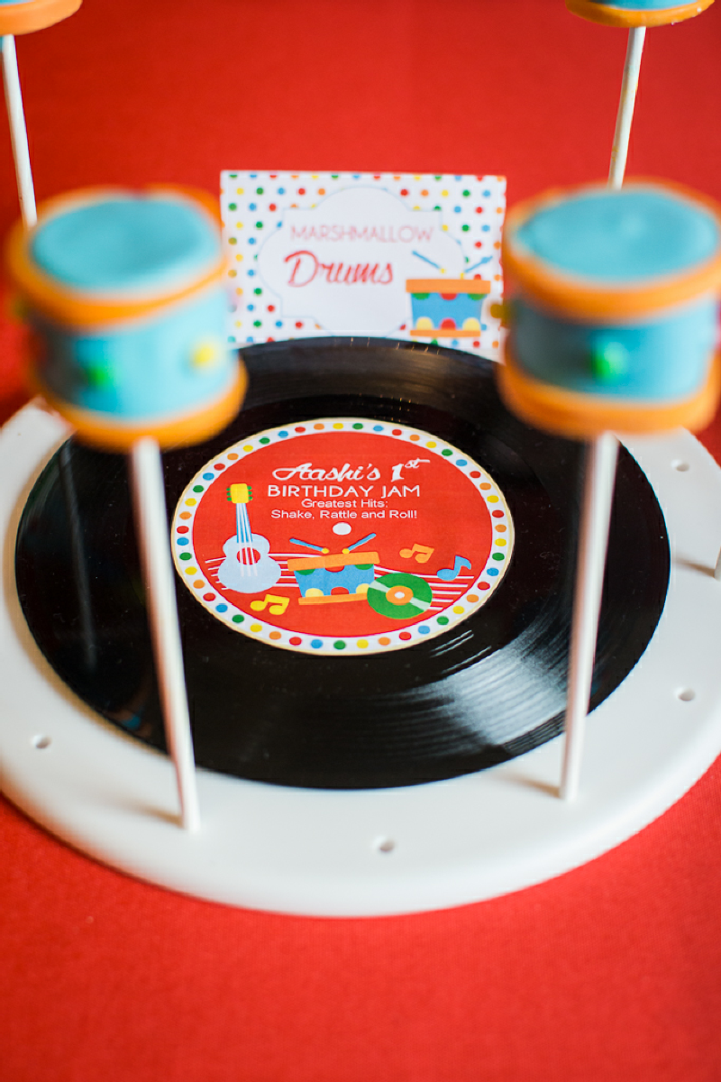 Baby Jam: A Music Inspired 1st Birthday Party Printables - via BirdsParty.com