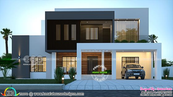 3549 sq-ft box model contemporary home