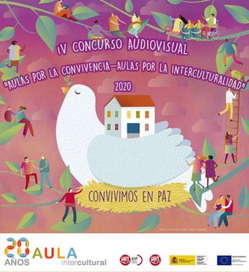 30 de Enero Día Internacional de la Paz y la No Violencia, Enseñanza UGT, Enseñanza UGT Ceuta, Blog de Enseñanza UGT Ceuta, Concurso aulas por la convovencia 2020