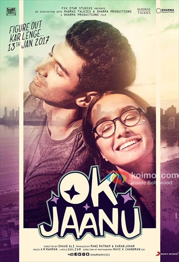 Ok Jaanu 2017 Hindi 720p pDVDRip 950mb