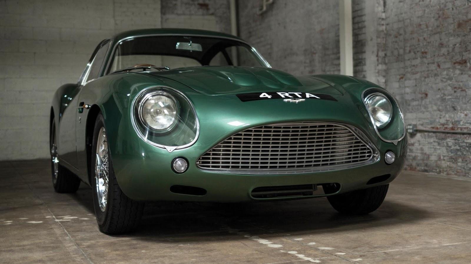 $14,300,000 – 1962 Aston Martin DB4GT Zagato