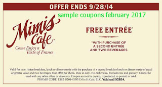 Mimis Cafe coupons february